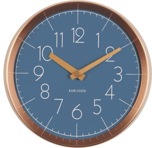 KARLSSON_Convex_Wall_Clock_blue_dejavu