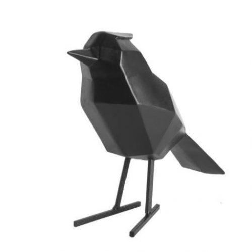 present-time_statue-bird-wit-zwart_dejavu